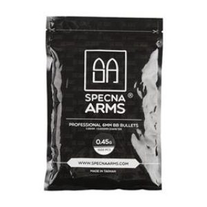 Kulki ASG Specna Arms 0,45g – BIAŁE – 1000 SZT.
