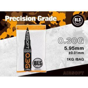 Kulki ASG BLS – 0,30g – 1 kg – 3330 szt.